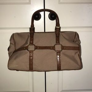 The Limited Tan Large Overnight Bag